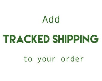 Upgrade to Tracked Shipping from the United Kingdom