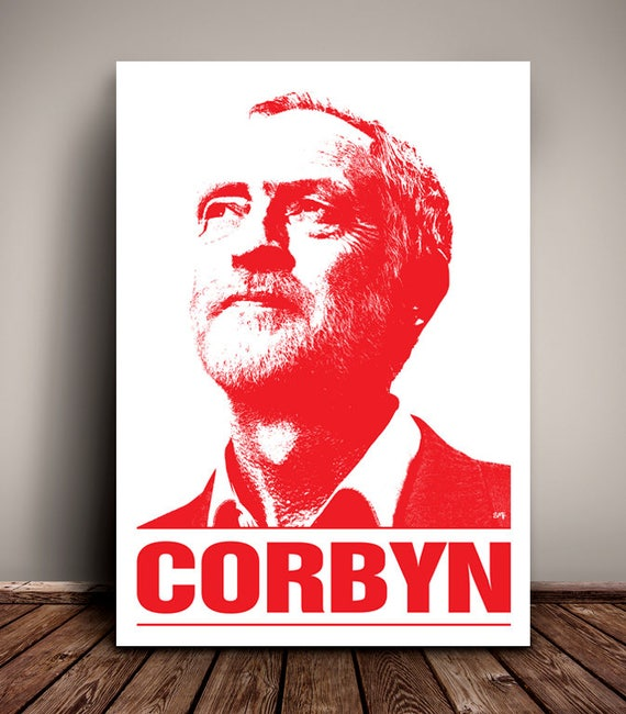 Jeremy Corbyn // Jez // Labour Party // Political Print // Unique A4 and A3 Art print
