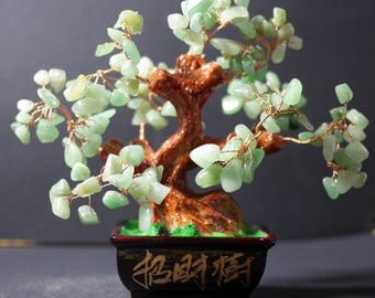 Money Tree | Feng Shui Tree | Lucky Tree | Fortune Tree | Crystal Tree | Bonsai Money Tree |  Green Bonsai Tree