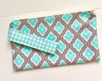 Wristlets / Zipper Wrist Pouch / Wrist Purse / Lined Pouch / Gifts for Her Birthday