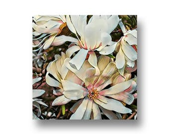 Magnolias, Art Print, Printable Art, Digital Art, Instant Download, Wall Decor
