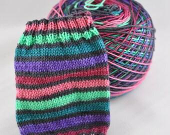 Hand Dyed Self Striping Yarn - Road Trippin'