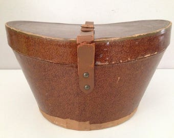 Vintage Dobbs Fifth Avenue New York Hat Box