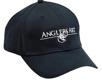 Anglers Art Hat, Fishing Hat, Anglers Hat, Sport Cap, Fishing Cap, Cool Gifts for Guys, Ladies Cap, Mens Cap, Women Fishing Hat, Truck Cap
