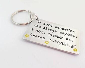Teacher gifts, Gifts for teachers Personalised teacher keyring Teacher appreciation gift Personalized teacher gift Thank you teacher