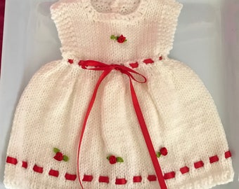Knitted Premie Dress Pinafore