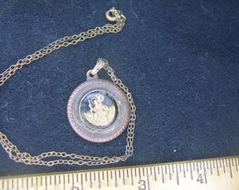 Vintage St. Christopher Medal(732)