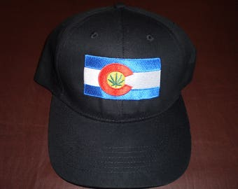 Colorado Flag Weed Hats