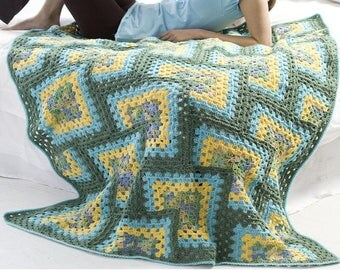 Granny Square Blanket Granny Square Afghan Afghan Blanket Crochet Blanket Crochet Afghan Crochet Throw Knitted Blanket Personalized Blanket