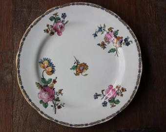 Vintage Aynsley Fine Bone China Floral Pattern Plate Made in England