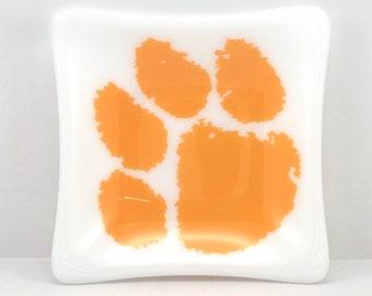 Tiger paw trinket dish