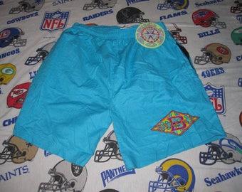 vintage 90s BUGLE BOY Swim Trunks - sz xl - new w tags sufer skater