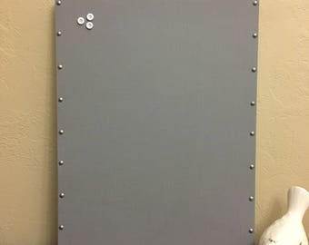 "Magnetic Message Photo Board, Tacked, Memory, Memo Bulletin 20""x24"""