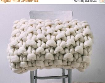 SUMMER SALE Chunky knit blanket, Super chunky knit blanket, Blanket, Chunky blanket, Chunky knit throw, Blanket throw, Chunky knits, Chunky