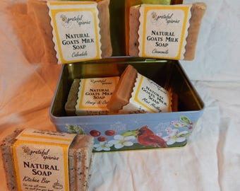 Natural Goats Milk Gift Box Sampler