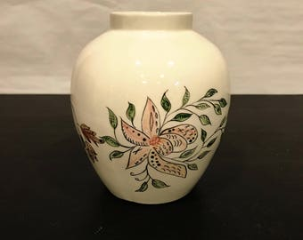 Vintage Hand Painted Studio Ceramic Vase