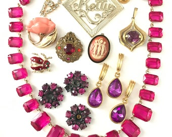 Vintage Jewelry Lot for Assemblage Repurpose Upcycle