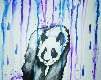 Sad Panda Print