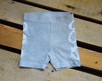 Tie Dye Shorts - Tie Dye - Toddler Clothes - Toddler Shorts - Grey Tie Dye - Boho Baby - Tie Dye Toddler Shorts