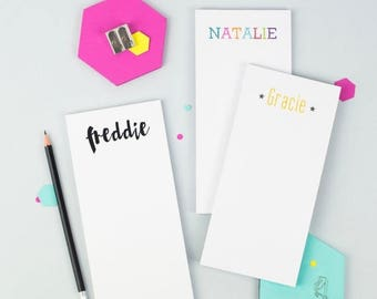 ON SALE Personalised Name To Do List Notepad