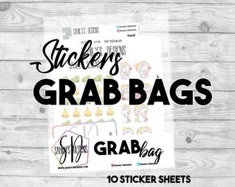 Stickers GRAB BAG / Mystery stickers bag // Stickers Bags //