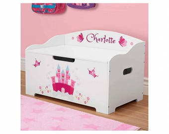 Personalized Dibsies Modern Expressions Princess Toy Box