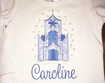 Ice Castle Applique Shirt