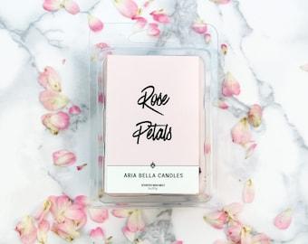 Rose Scented Wax Melt - Pink - Wax Melt - Floral
