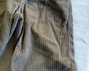 Cord Short,Baggy Short,Hi Rise Short,Corduroy Short,Tan Short,Beige Short,Knee Length Short,Hi Waist Short,Light Brown Short,Sz 32,Size 32