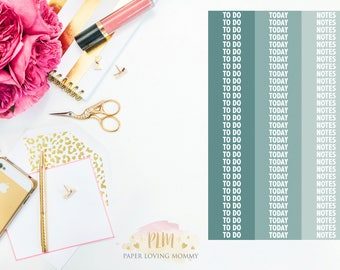 93 Custom Header January Stickers | Planner Stickers | Planner Stickers designed for use with the Erin Condren Life Planner