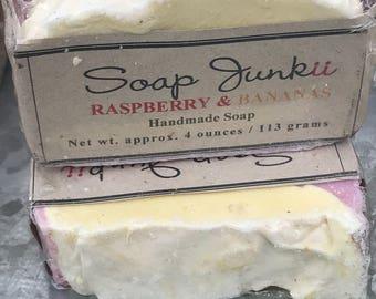 Raspberry Banana Soap