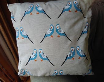 Budgie cushion includes pad.