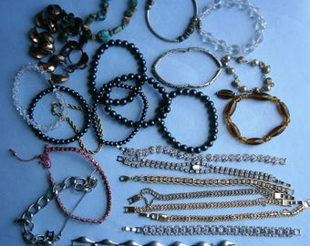 Collection of Vintage Bracelets
