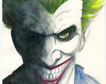 DC Comics infamous nemesis to Batman, the Joker
