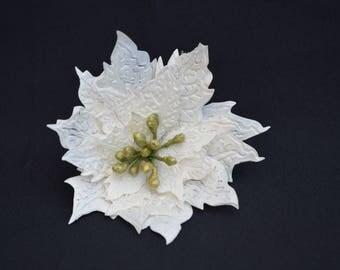 pointsettia Sola Wood flower