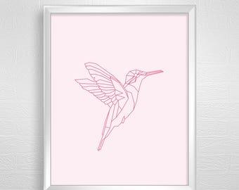 Bird art pink,wall art bird pink,wall art bird,wall art pink,bird digital,bird pink download.