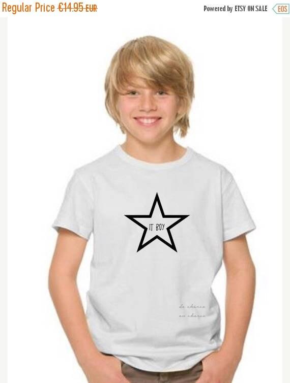 REBAJADO Boy t-shirt STAR IT Boy
