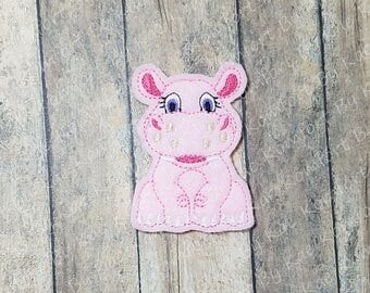 Pretty Hippo YTD Felties- (set of 4) UN-CUT
