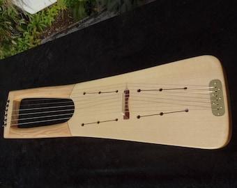 acoustic saxon lyre harp