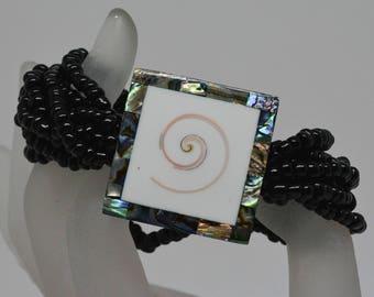 Lovely multi stand beaded bracelet