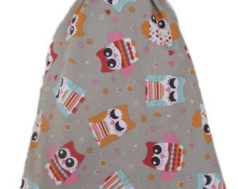 Bag pouch Tote, range pajamas, blanket... Cool grey.