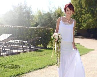BOHEMIAN BRIDAL dress wedding Bohemian trend