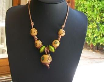 Necklace ethnic spirit Africa