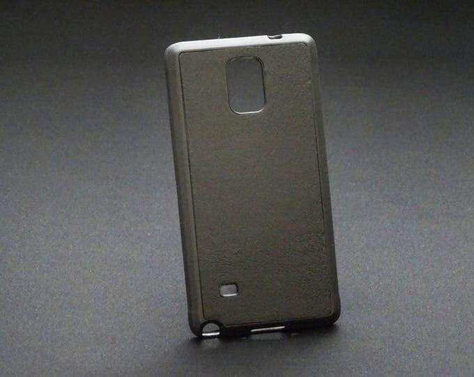 Samsung Galaxy Note 4 - Jimmy Case in Black - Kangaroo leather - Handmade - James Watson