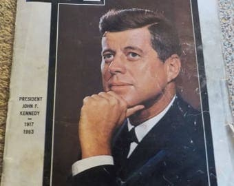 1963 JFK TIME MAGAZINE