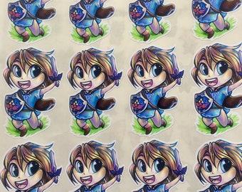 Link Breath of the Wild Legend of Zelda Sticker