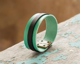 Handmade Eco Leather Bracelet