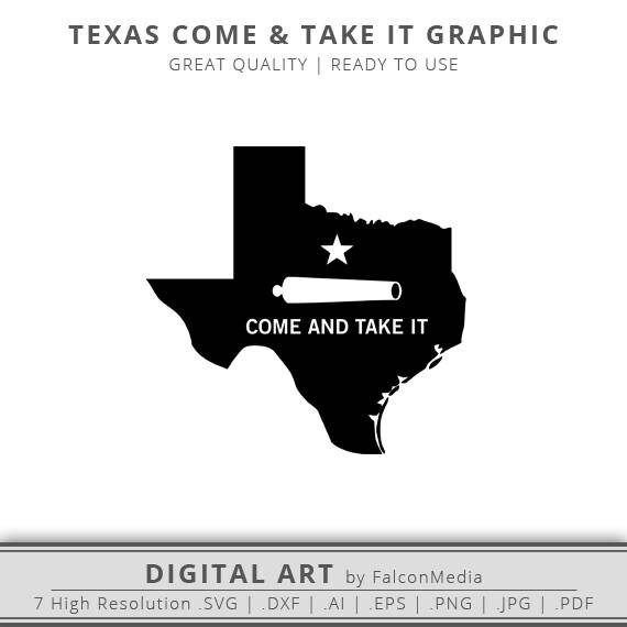 texas come take it state graphic texas silhouette texas svg dxf eps texas state outline ready to use