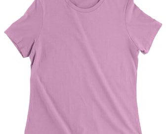 Basics - Plain Blank Womens T-shirt
