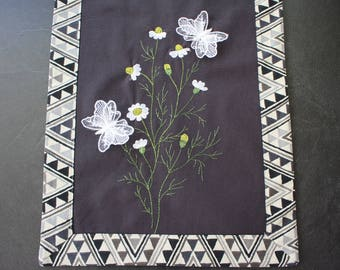Table Runner with embroidery